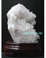 Khối thạch anh trắng phong thủy TR01