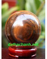 Đá phong thủy thạch anh mắt hổ MH6.8a