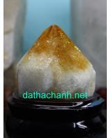 Mắc đá thạch anh vàng phong thủy VT10