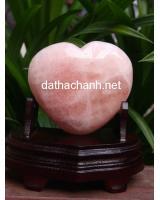 Trái tim thạch anh hồng HTIM1