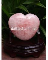 Trái tim thạch anh hồng HTIM3