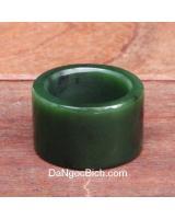 Nhẫn ngọc bích size19 DNBN047
