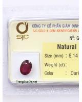 viên đá garnet ngọc hồng lựu GARNET1.955