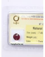 viên đá garnet ngọc hồng lựu GARNET2.76