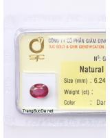 viên đá garnet ngọc hồng lựu GARNET1.58