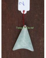Mặt dây chuyền đá aquamarine aqua02