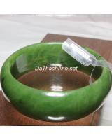 Vòng đá ngọc bích nephrite DNBV43800