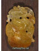 Long Quy - Rùa đầu Rồng thạch anh tóc vàng ruatoc4
