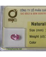 Viên đá sapphire hồng SPh0.6