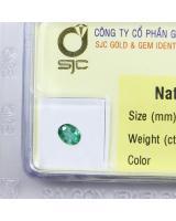 Đá emerald ngọc lục bảo NLB0.44