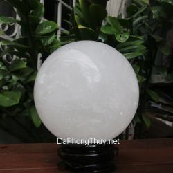 Quả cầu đá canxit trắng TRCC12.2