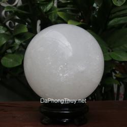 Quả cầu đá canxit trắng TRCC10.2