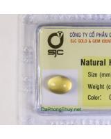 Viên đá beryl vàng thiên nhiên 3.27