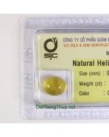 Viên đá beryl vàng thiên nhiên Beryl4.97