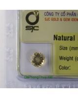 Viên đá beryl vàng thiên nhiên Beryl1.35