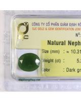 Viên đá mài giác ngọc bích nephrite DNBKD5.26