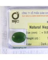 Viên đá mài giác ngọc bích nephrite DNBKD5.14