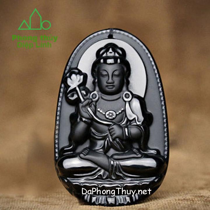 Phật Bản Mệnh Đại Thế Chí Bồ Tát Núi Lửa Obsidian