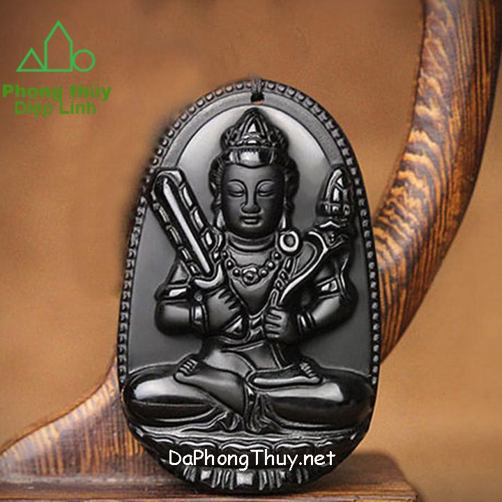 Phật Bản Mệnh Hư Không Tạng Bồ Tát Núi Lửa Obsidian