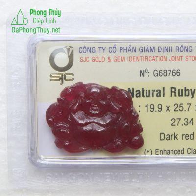Phật Di Lạc Ruby RBP27.34