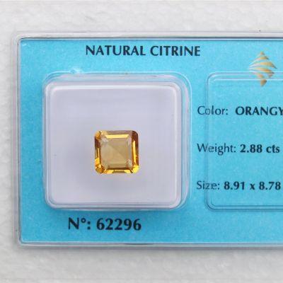 Viên đá kiểm định thạch anh vàng VM2.88