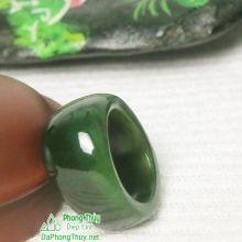 Nhẫn ngọc bích nephrite jade NBNK10-18.1