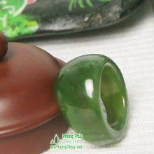Nhẫn ngọc bích nephrite jade NBNK3-18
