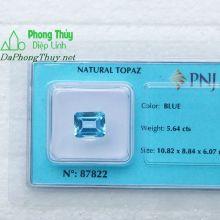 Viên đá topaz xanh hoàng ngọc PAZ5.64b
