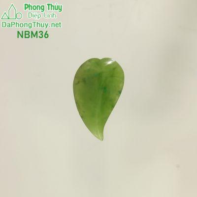 Chiếc lá đá ngọc bích NBM36