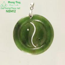 Bát Quái ngọc bích nephrite NBM12