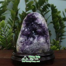 Khối đá phong thủy thạch anh tím T16