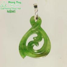 Mặt đeo đá ngọc bích NBM1