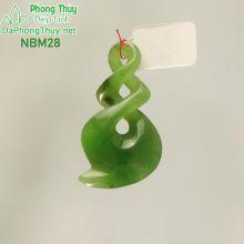 Mặt đeo ngọc bích vĩnh cửu NBM28