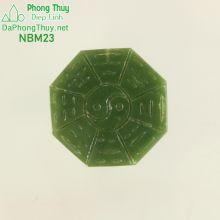 Mặt ngọc bích phong thủy bát quái NBM23