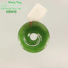 Mặt ngọc bích phong thủy no đủ NBM10