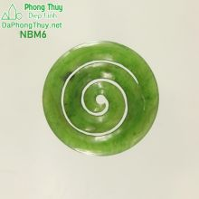Mặt ngọc bích phong thủy no đủ NBM6
