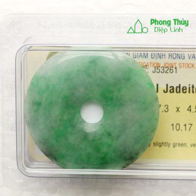 Đồng điếu ngọc bội cẩm thạch J53261