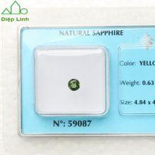 Viên đá sapphire xanh lá cây 0.63-59087