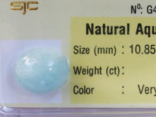 Trang suc aquamarine